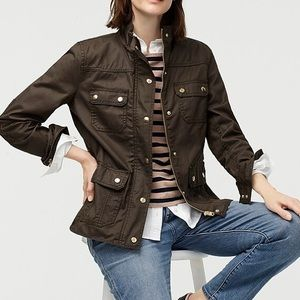 Olive Green Downtown Field Jacket
